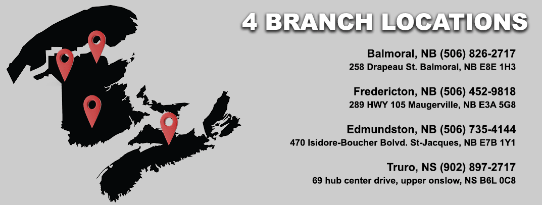 A.L.P.A. Equipment Ltd. Branch Locations